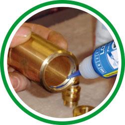 12 Lim - kemiska låsningar - tejp